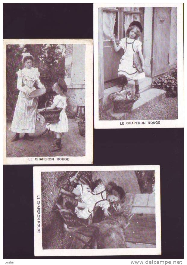 Epice Albert à Nantes - 3 Images 1910circa - Le Petit Chaperon Rouge, Galette - Sin Clasificación