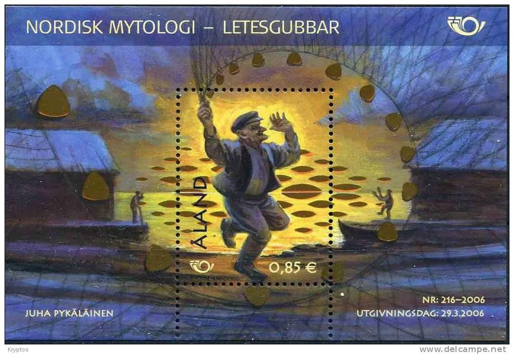 Åland 2006 - Nordic Mythology - Minisheet - Aland
