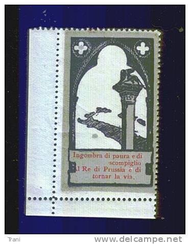 VIGNETTA ERINNOFILA - GUERRA 1915-1918 - Erinnofilia