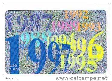 ISLE OF MAN - MANX TELECOM CHIP - 10^ ANNIV. COMMUNICATIONS IN ISLE OF MAN -  (USED) CODE IOM19 - RIF. 7761 - Isola Di Man