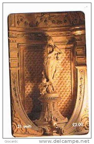 ISLE OF MAN - MANX TELECOM CHIP - THE GAIETY THEATRE: DECORATION - (USED) CODE IOM41 - RIF. 7781 - Isola Di Man