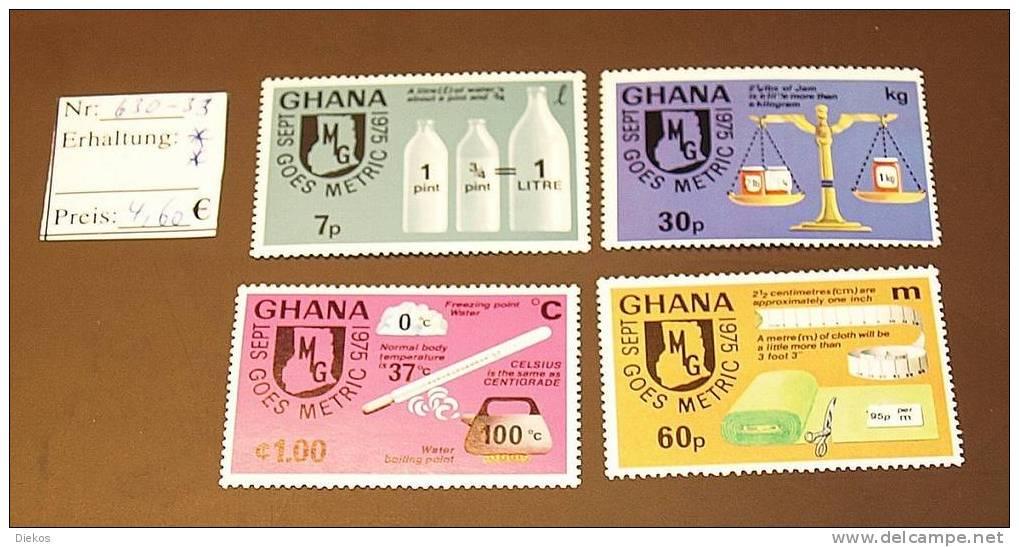 Ghana  Michel: 630 -33 ** Postfrisch MNH   #1526 - Ghana (1957-...)