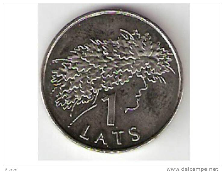 Latvia  1 Lats 2006  Km 73  Unc - Lettonie