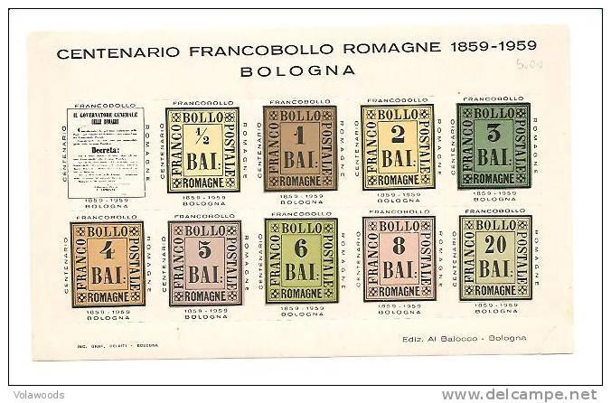 Centenario Del Francobollo Delle Romagne -1959- Erinnofilo Nuovo - 6. 1946-.. Republic