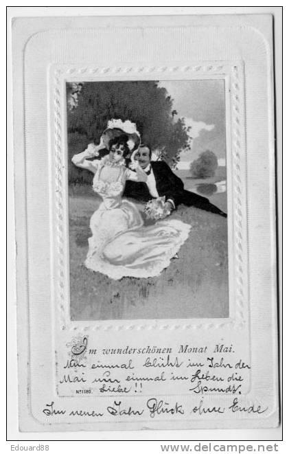 AM WUNDERSCHÖNEN MONAT MAI   Karte Vorstufe 1902 - Femmes