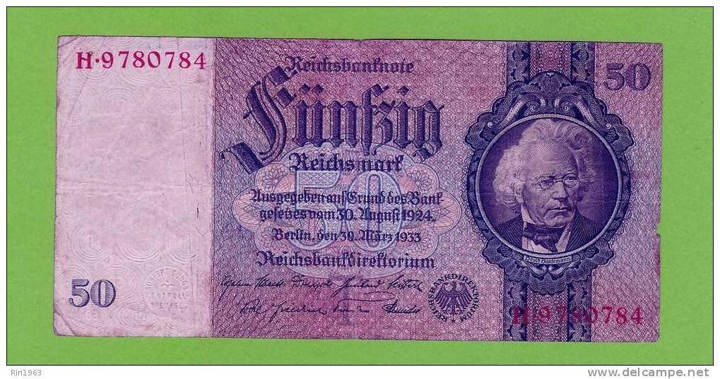 (143) -50 Reichsmark - Allemagne
