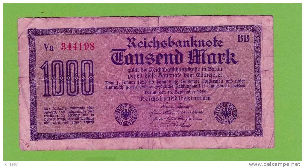 (144) -1000 Mark - Allemagne