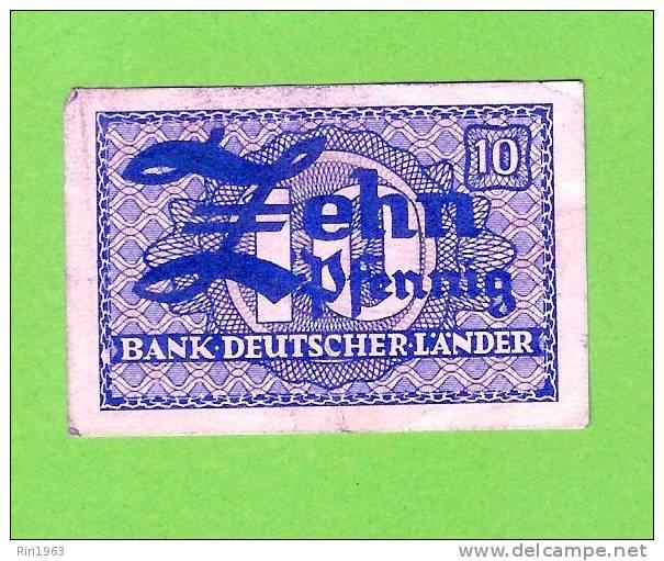 (145) -10 Pfenning - Allemagne