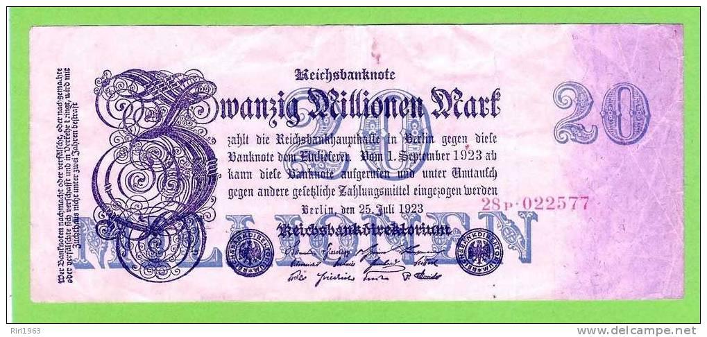 (147) -20 000 000 Mark - Allemagne
