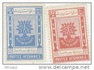 Afghanistan-1960 World Refugee Year MNH - Afghanistan