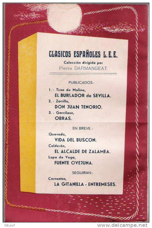 TIRSO DE MOLINA  - LEE Paris-Toulouse - 96 Pages - 1948 - - Littérature