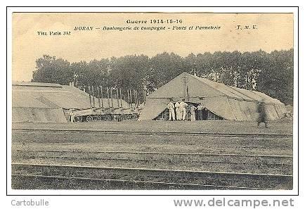BORAN SUR OISE -  Boulangerie De Campagne - TMK 1916 -GUERRE 14 18 1914 1918 MILITARIA MILITAIRE OISE PICARDIE -R1570210 - Boran-sur-Oise