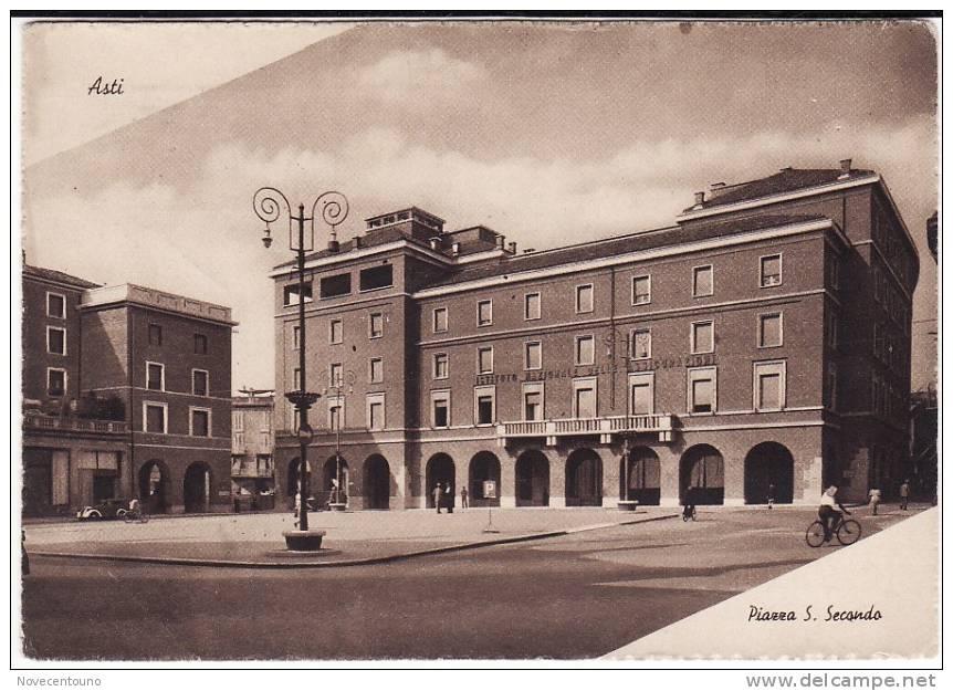 PIEMONTE - ASTI - Piazza  S. Secondo - Asti