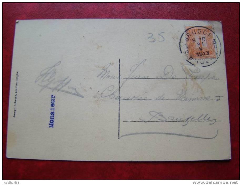 Blankenberghe Heure Des Bains 1913 Ed. Scheers - Blankenberge