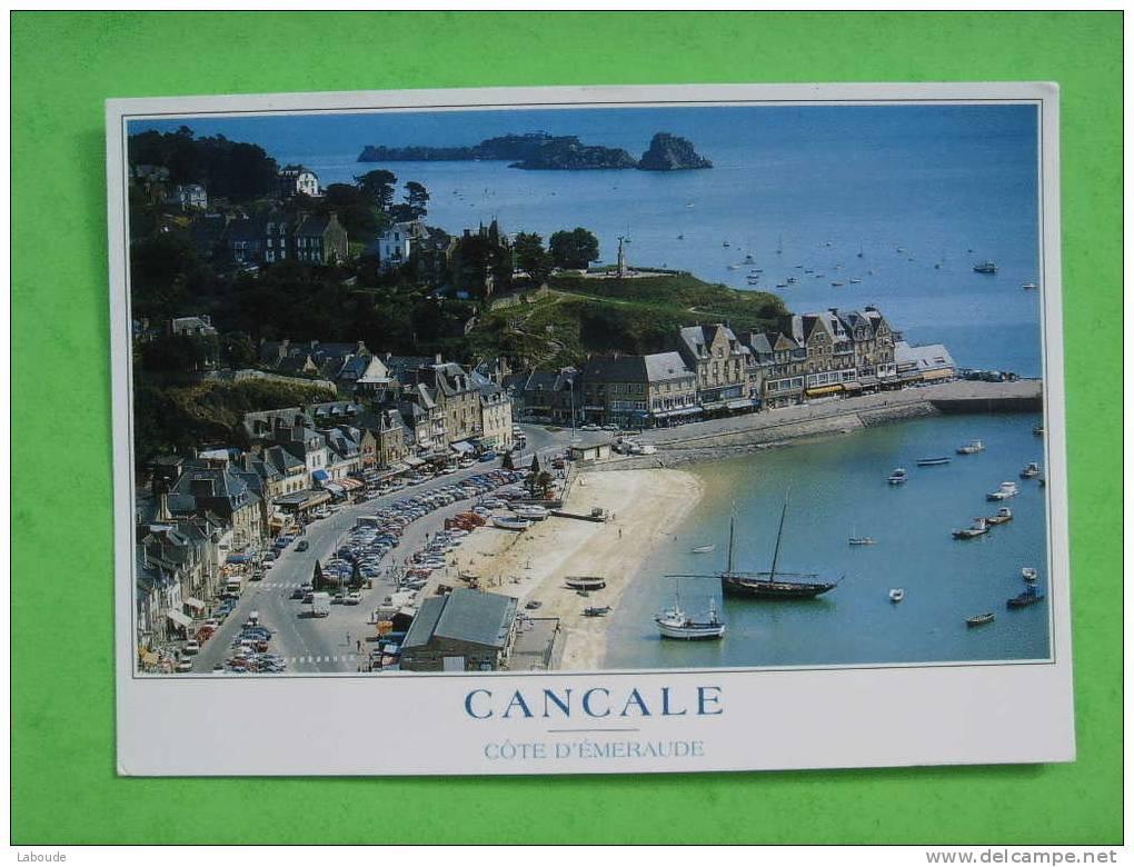 35/3-48)cancale: Port Houle,rocher,ile De Rimais : Bisquine - Cancale