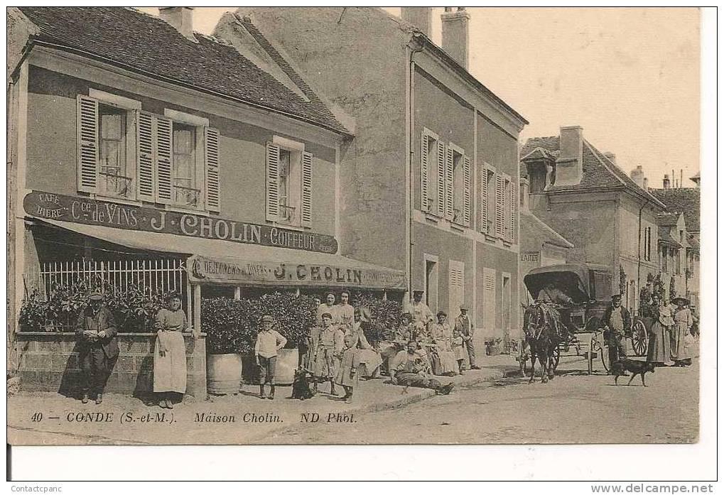 CONDE Ste LIBIAIRE   ( 77 )   -  Maison  CHOLIN - France
