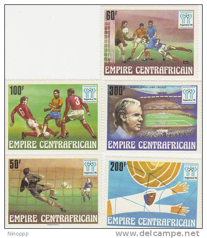 Central African Empire-1978 Soccer World Cup Argentina MNH - Soccer