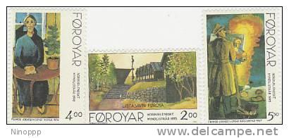 Faroe Islands-1995 Nordic Art MNH - Art