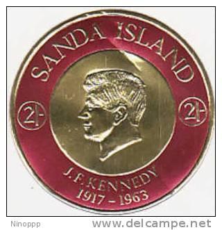 Sanda Island-1963 J.F. Kennedy  Death MH - Kennedy (John F.)