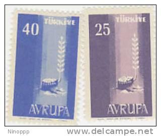 Turkey-1958 Europa MNH - Unclassified