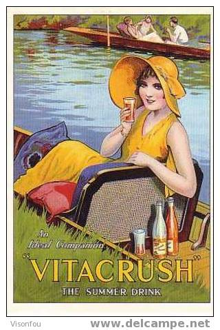 "An Ideal Companion : Vitacrush"" The Summer Drink - Pubblicitari"