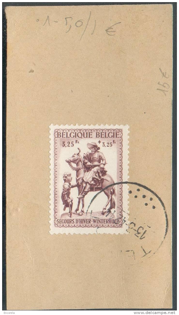 N°591 Sc TERNAT 13/3/1942 S/etiquette échantillon Sans Valeur En Recommandé Vers Turnhout. - 5392 - Briefe U. Dokumente