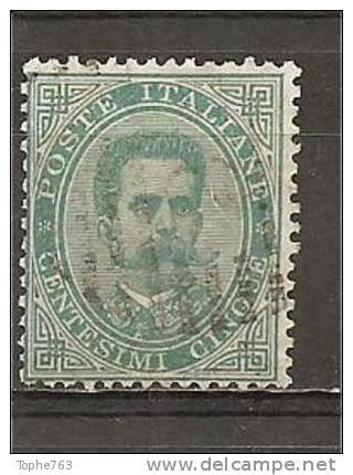 Italie 1879 YT N° 33o - Used