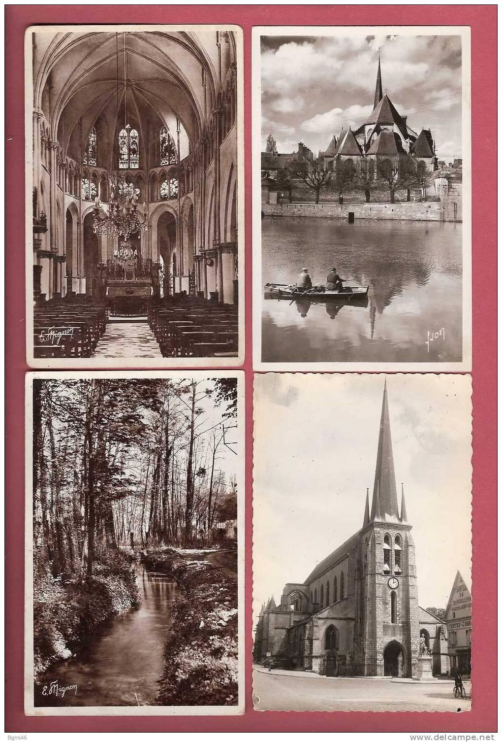 Lot N° 90 De 8 CPSM...SEINE Et MARNE..( Dépt 77 )....( Toutes Scannées ) - Cartes Postales