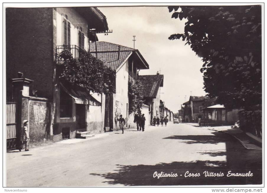 PIEMONTE - TORINO - Oglianico Canavese - Corso Vittorio Emanuele - Sin Clasificación