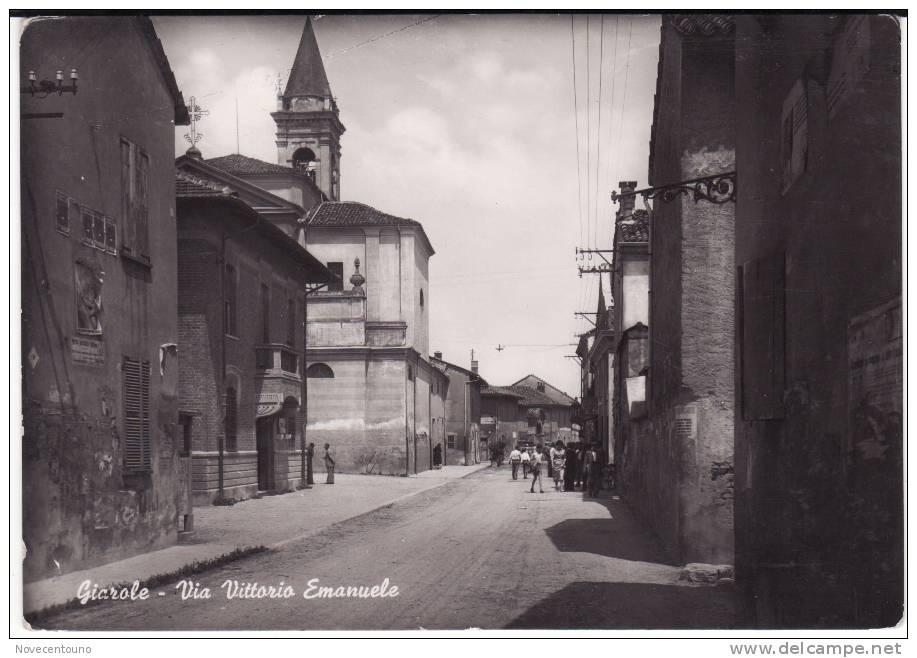 PIEMONTE - ALESSANDRIA - Giarole -  Via Vittorio Emanuele - Alessandria