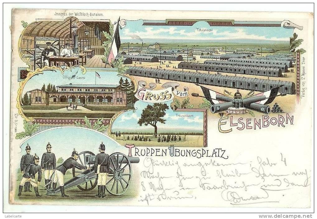 BELGIQUE.LIEGE.GRUSS VOM ELSENBORN - Elsenborn (camp)