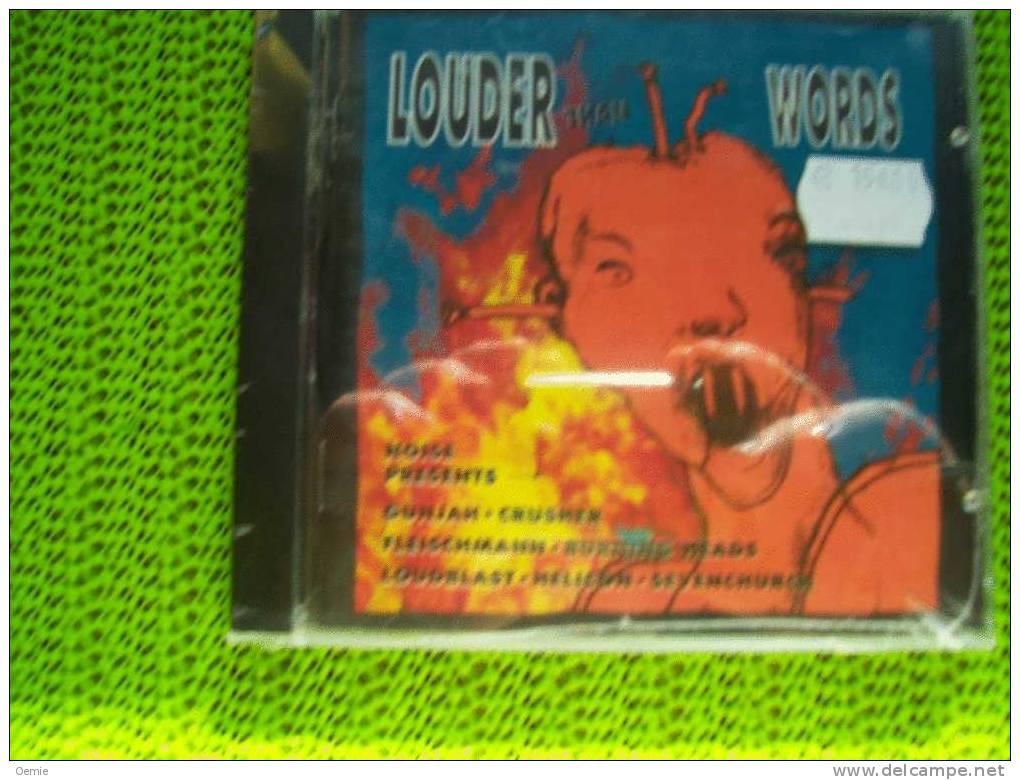 LOUDER THAN WORDS °°°°° Cd - Hard Rock & Metal