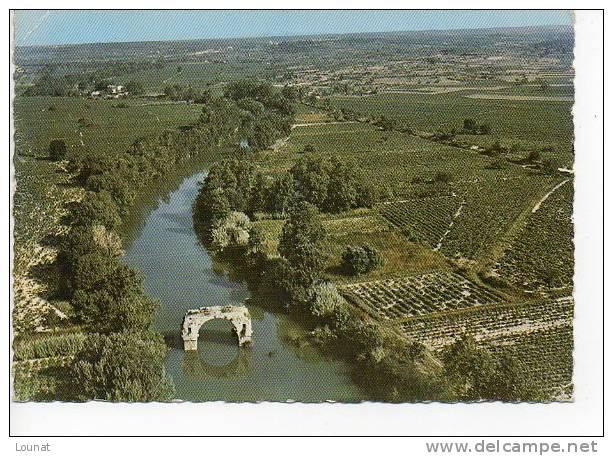 34 LUNEL : Vue Aérienne Le Pont Romain - Lunel