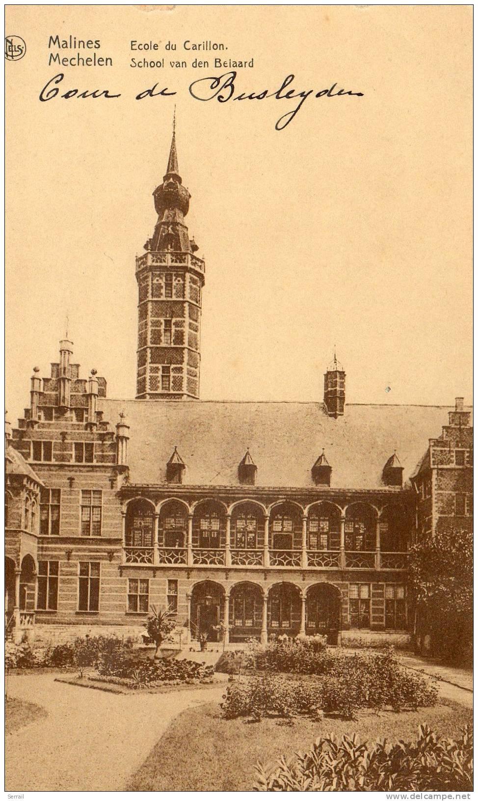 MALINES - MECHELEN  -  Ecole Du Carillon - Machelen