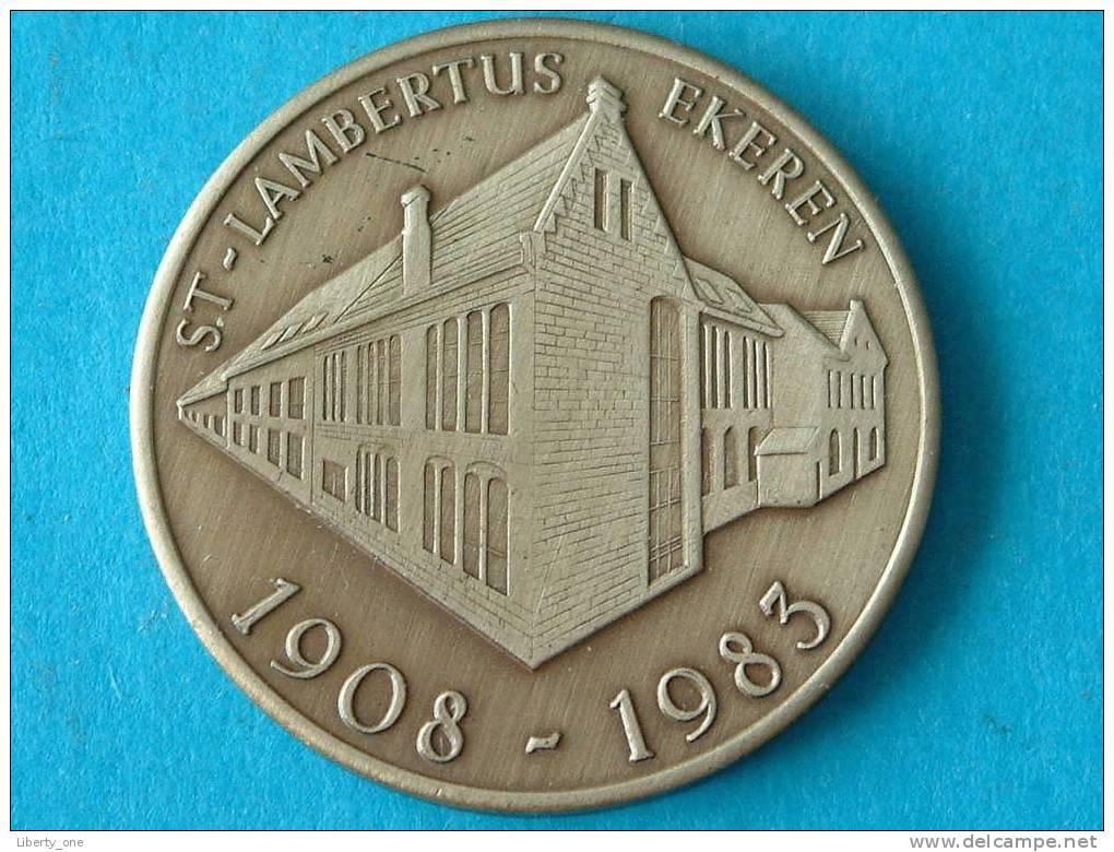 EKEREN ST. LAMBERTUS 1908-1983 - 100 LAMBERTIJNEN / Zilverkleur ( Details Zie Foto´s) !! - Non Classés