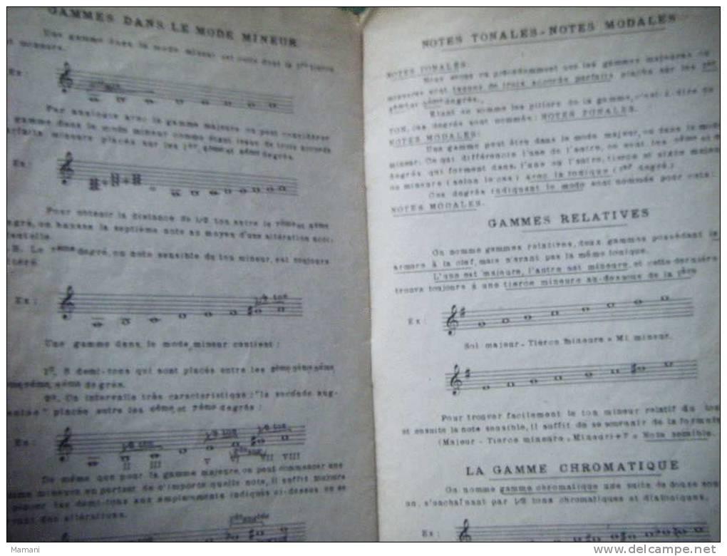 Precis Elementaire De Theorie Musicale Par Louis Martini- - Non Classés