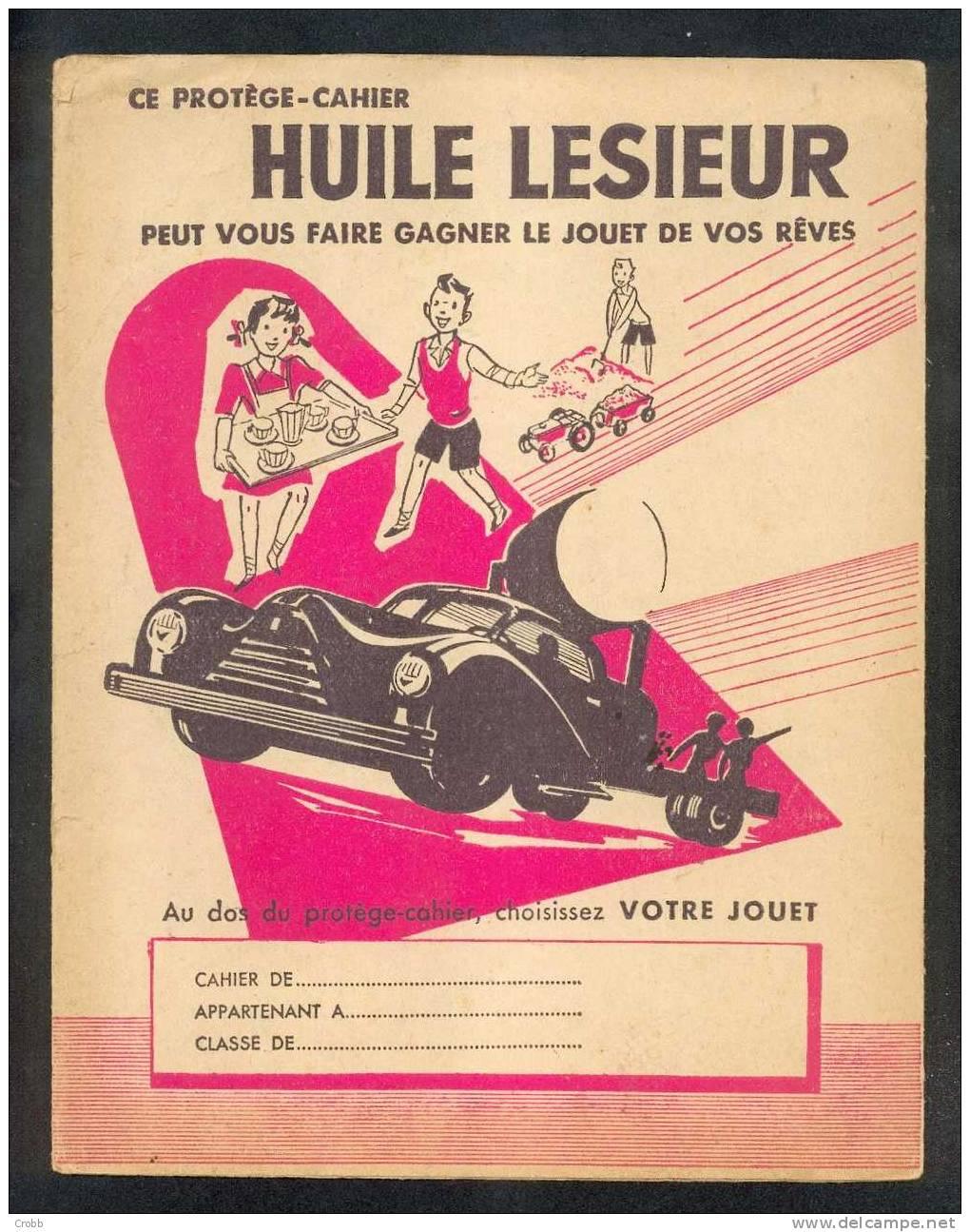 Beau Protège Cahier HUILE LESIEUR, - Blotters