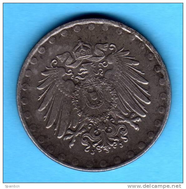 1ª G.m. - WWI    10 Pfennig 1922 J   Fe   KM20   ALEMANIA GERMANY DEUTSCHLAND - Alemania