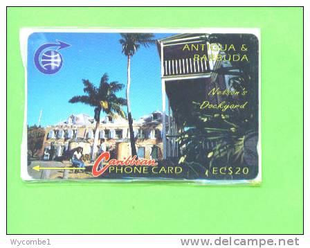 ANTIGUA & BARBUDA - Magnetic Phonecard/Nelsons Dockyard - Antigua And Barbuda