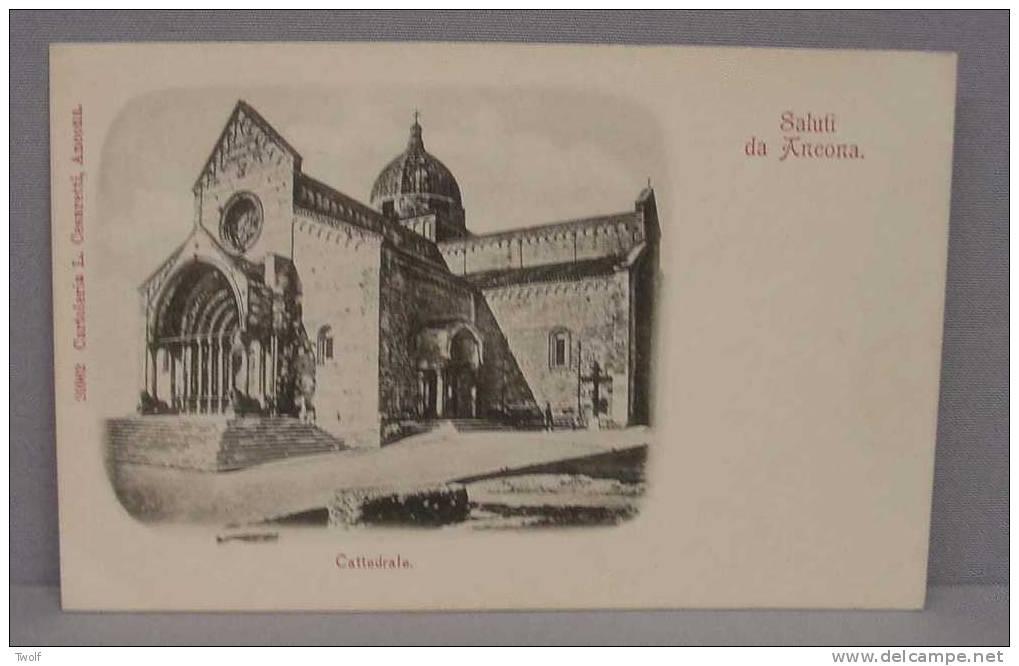 Saluti Cda Ancona - Cattedrale - 20962 - Cartoleria L. Cesaretti, Ancona - Ancona