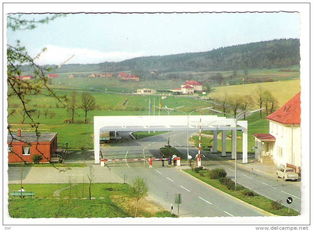 Deutsch-Tscheschischer Grenzübergang FURTH IM WALD; Frontière Germano Tchèque; Douane; 1974; TB - Douane