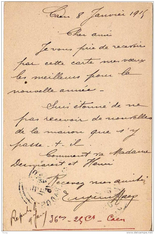 MILITARIA CORRESPONDANCE DES ARMEES DE LA REPUBLIQUE - DRAPEAUX EDITION BAUDINIERE PARIS - CAEN 1915 - Documents