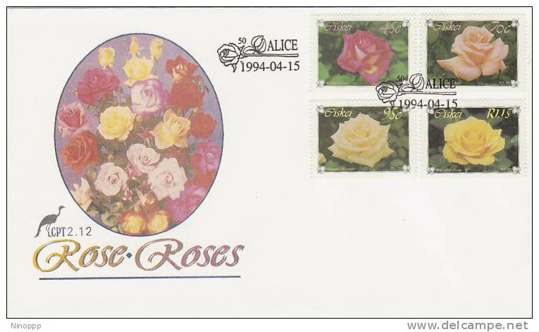 Ciskei-1994 Roses FDC - Roses