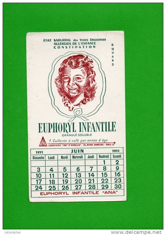 Labo ANA Juin1951 - Produits Pharmaceutiques