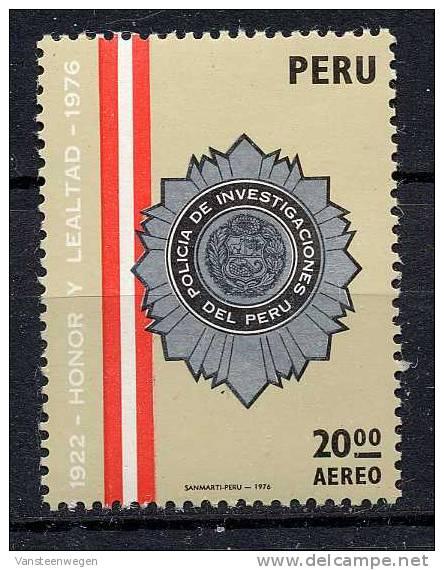 Pérou Y&T PA 424 ** - Peru