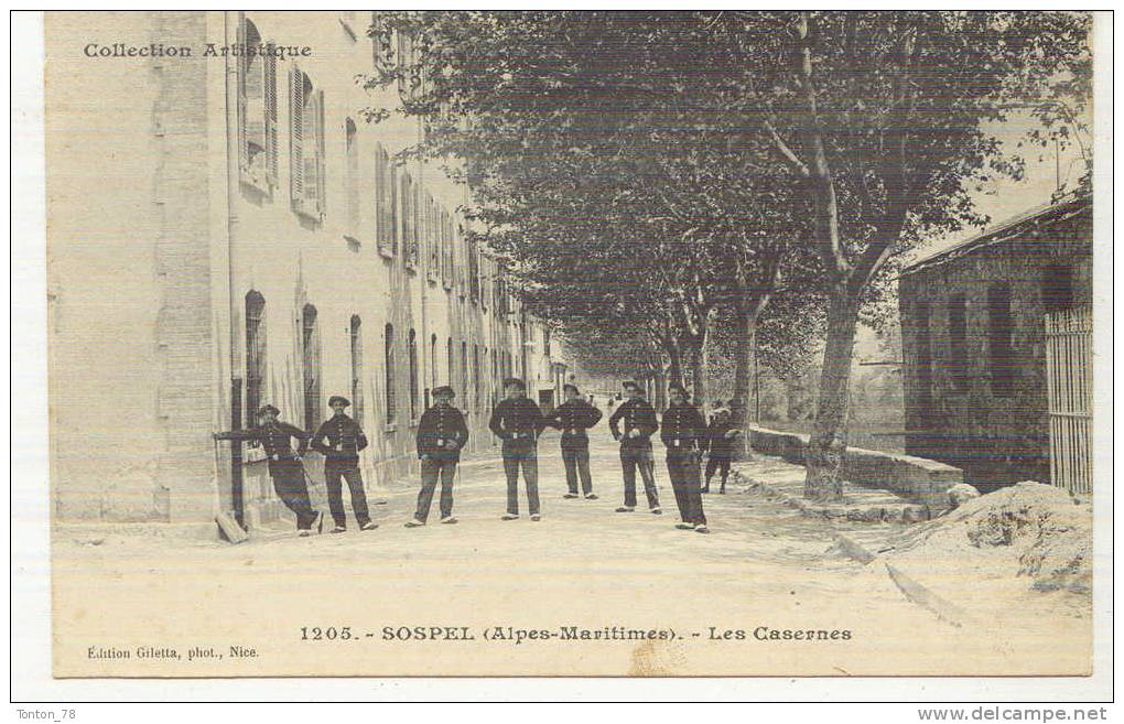 SOSPEL  -  LES CASERNES - Sospel