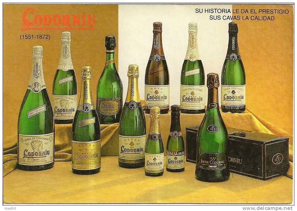 Champagne Codorniu - Publicidad