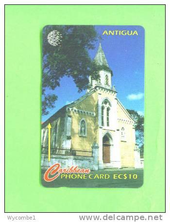 ANTIGUA - Magnetic Phonecard/Roman Catholic Cathedral - Antigua And Barbuda