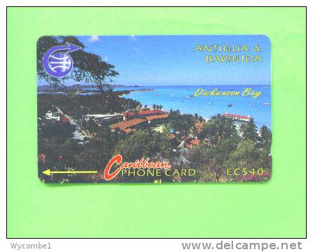 ANTIGUA AND BARBUDA - Magnetic Phonecard/Dickenson Bay - Antigua And Barbuda