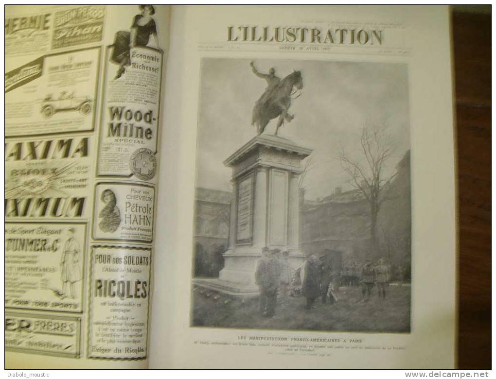 L´ILLUSTRATION  28/04/1917:Photos Identités De SOLDATS ALLEMANDS ..une , était Peut-être L´un De Votre Ancêtre - Zeitungen